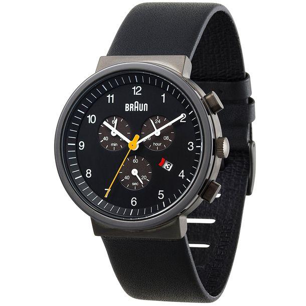 e5aec874e1604 BN0035 Classic Watch Black by Braun