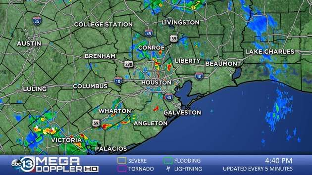 Southeast Texas Weather Radar Mega Doppler Texas Weather Weather News Weather