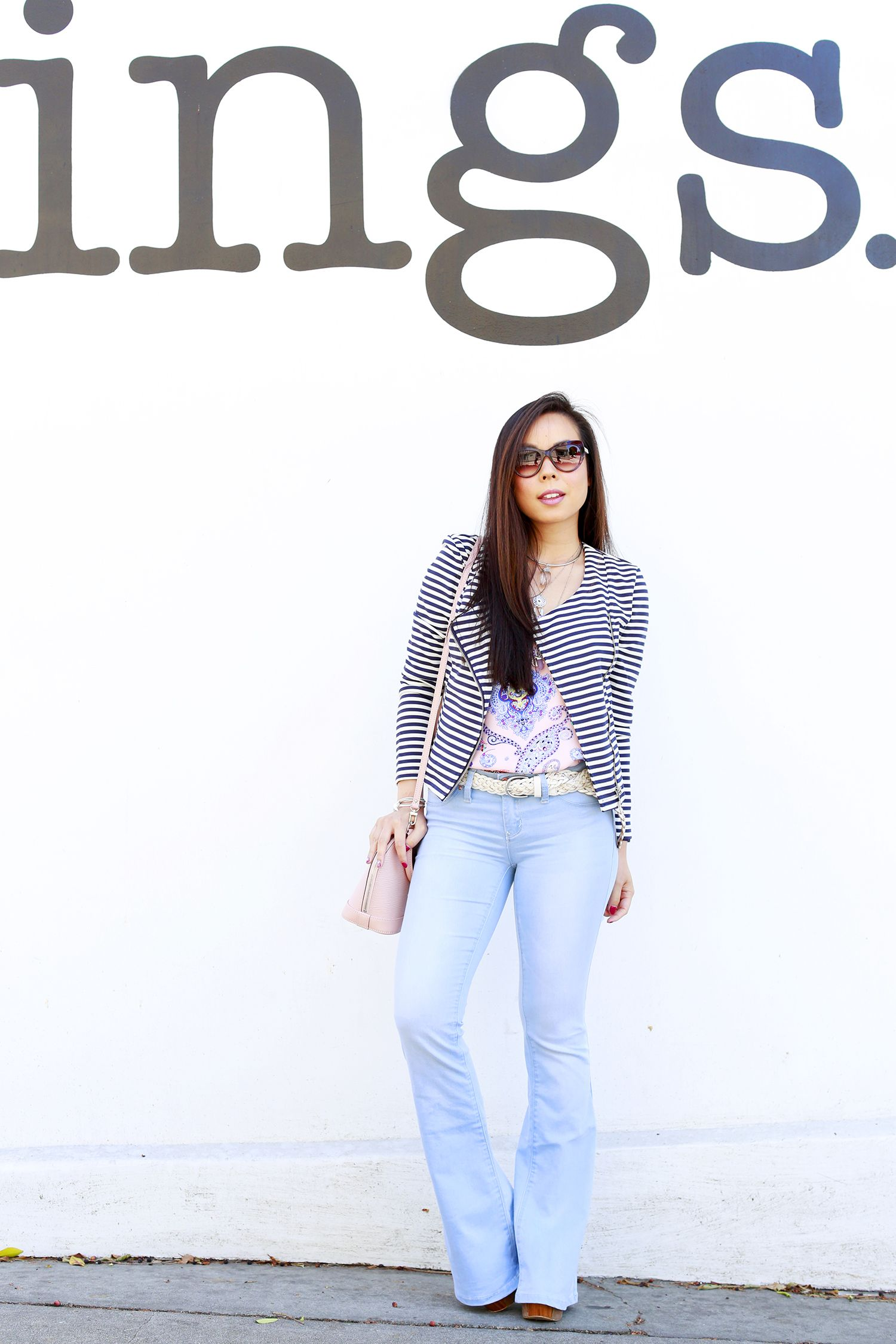 An-Dyer-wearing-Bulgari-Sunglasses-with-JustFab-Striped-Jacket ...