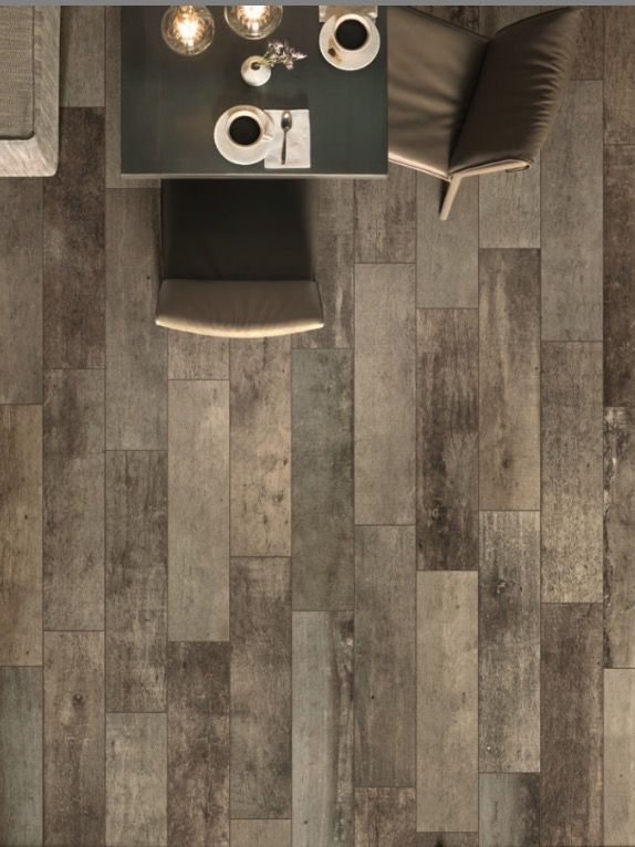 Wood Trend 8x36 Modern Distressed Look Porcelain Tile