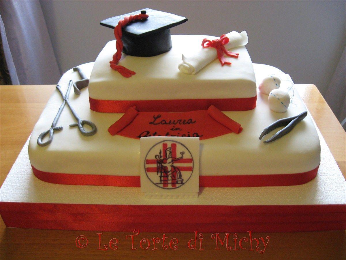 Laurea in ostetricia le torte di michy cake design for Decorazioni per torte di laurea