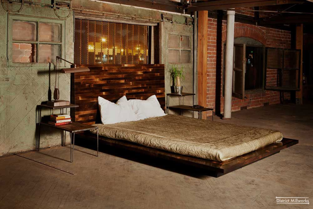 Rustic chic bedroom ideas urban rustic beds rustic for Bedroom ideas industrial