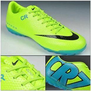 Nike Mercurial Vapor IX CR7 SE Limited Edition TF Boots Fluorescent Green  Blue Black b444f3f216265