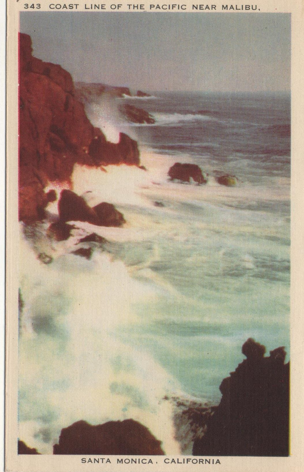 1940's postcard of Hagins collection.