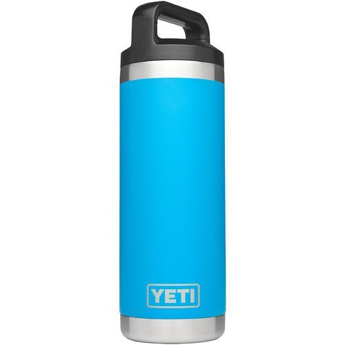 6bd6b568e29 Yeti Rambler 18 oz Bottle Blue - Thermos Cups And Koozies at Academy Sports