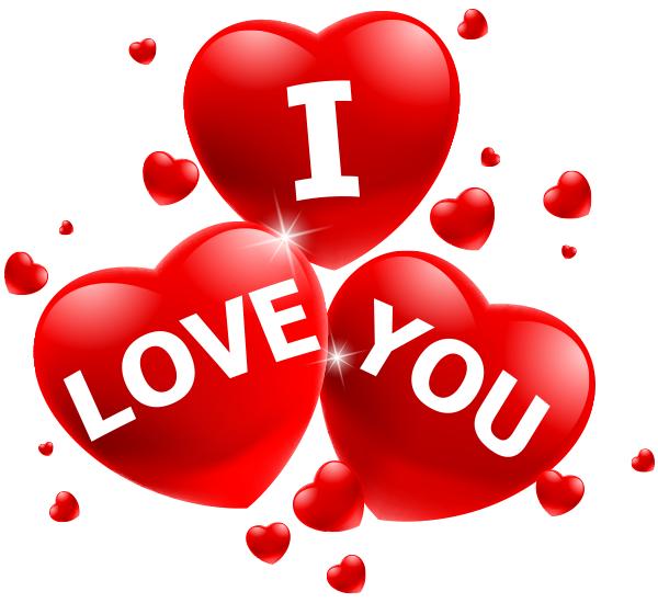 Love You in Triple Hearts