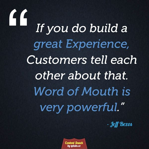 Word of Mouth echoes through the Social Web | #WordofMouth #WOMM