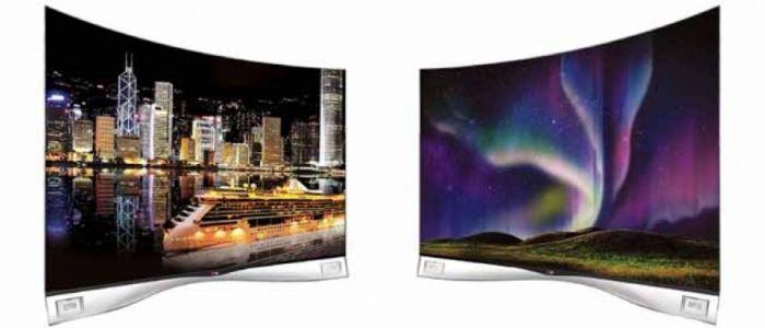 LG lanza una pantalla OLED curvada El televisor EA9800 imita la forma del ojo humano y con la tecnología WRGB reproduce los colores de forma natural.