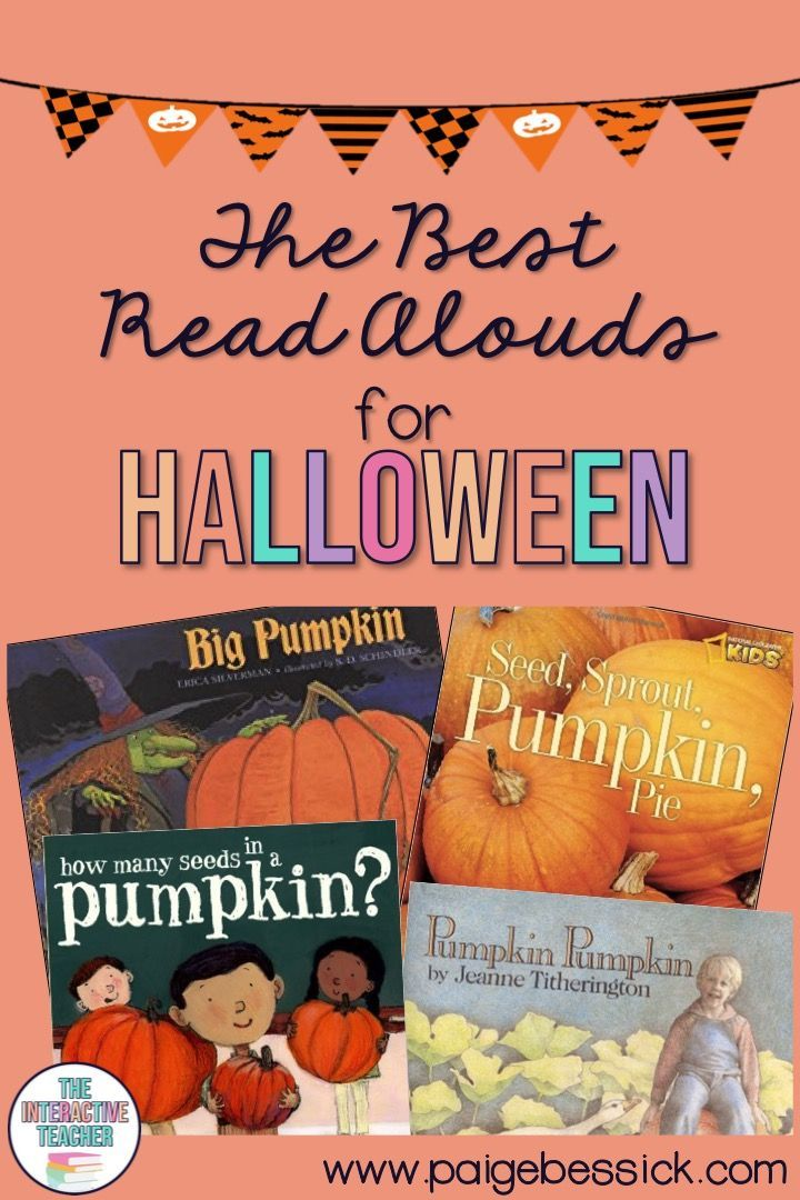 Photo of The Best Read Alouds for Halloween-check out this blog post for great children's…