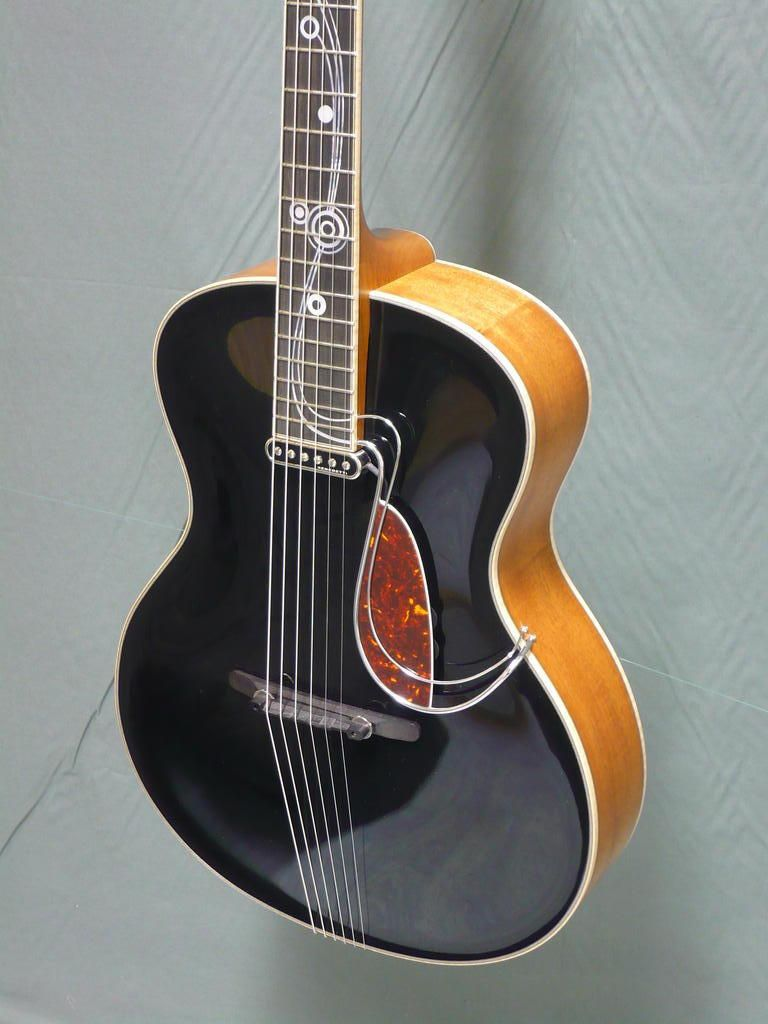 grellier arch top blues guitar projects to try blues guitare guitare et guitare acoustique. Black Bedroom Furniture Sets. Home Design Ideas