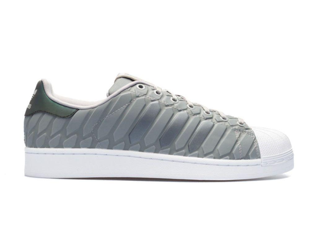 Adidas Superstar XENO Chaussures Adidas Pas Cher Pour Homme gris d69367