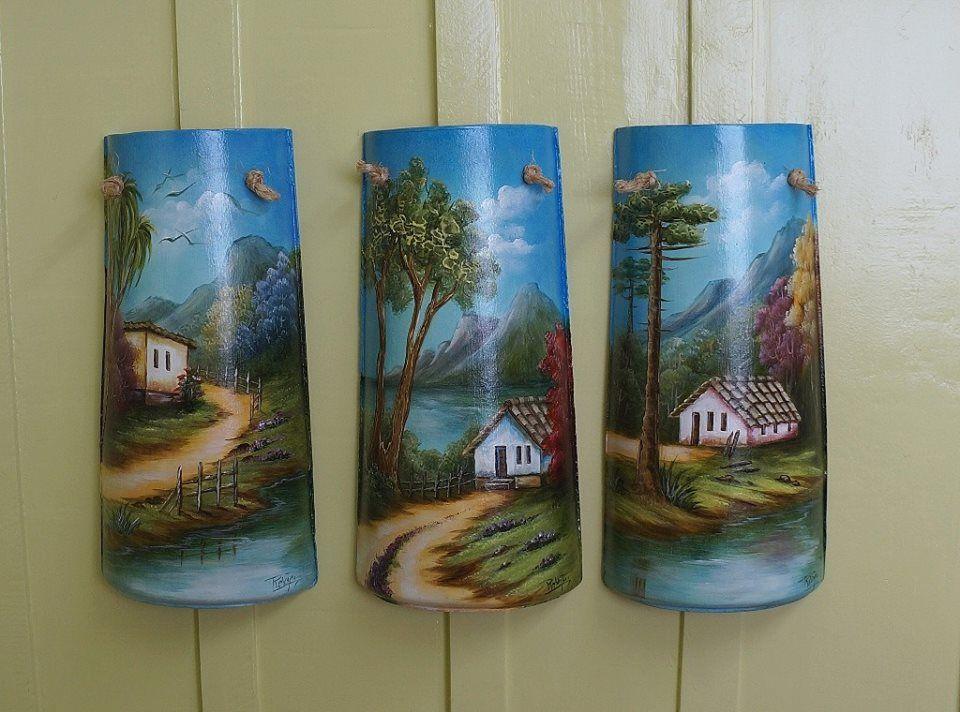 Imagen relacionada proyectos pinterest pinturas for Pintura para tejas