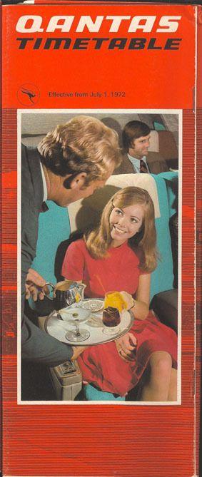 Qantas Timetable 1972