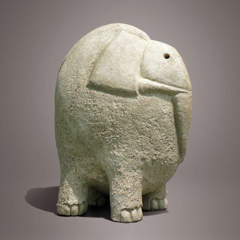 Éléphant/Christian Pradier | animals-clay, metal and wood ...