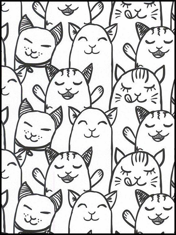 kawaii 39 ausmalbilder für kinder malvorlagen zum