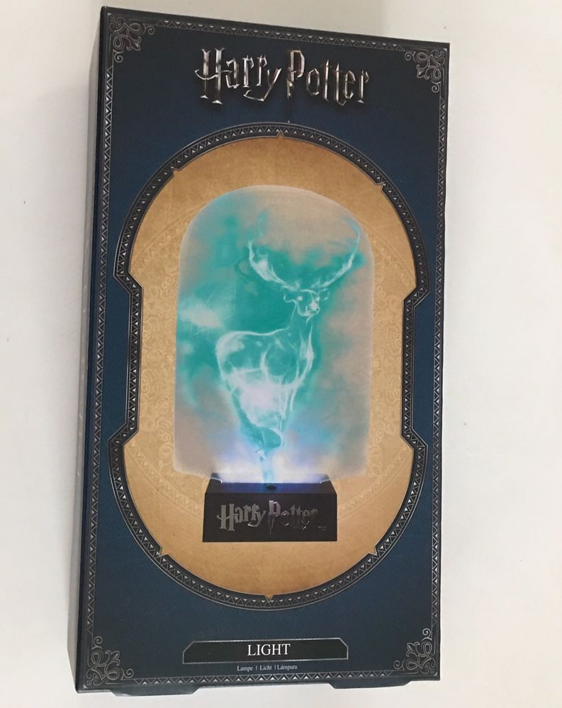 Paladone Harry Potter Patronus Live Edge Light 10 Lamp Usb Battery
