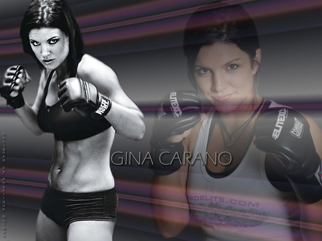 Tits gina carano with dick