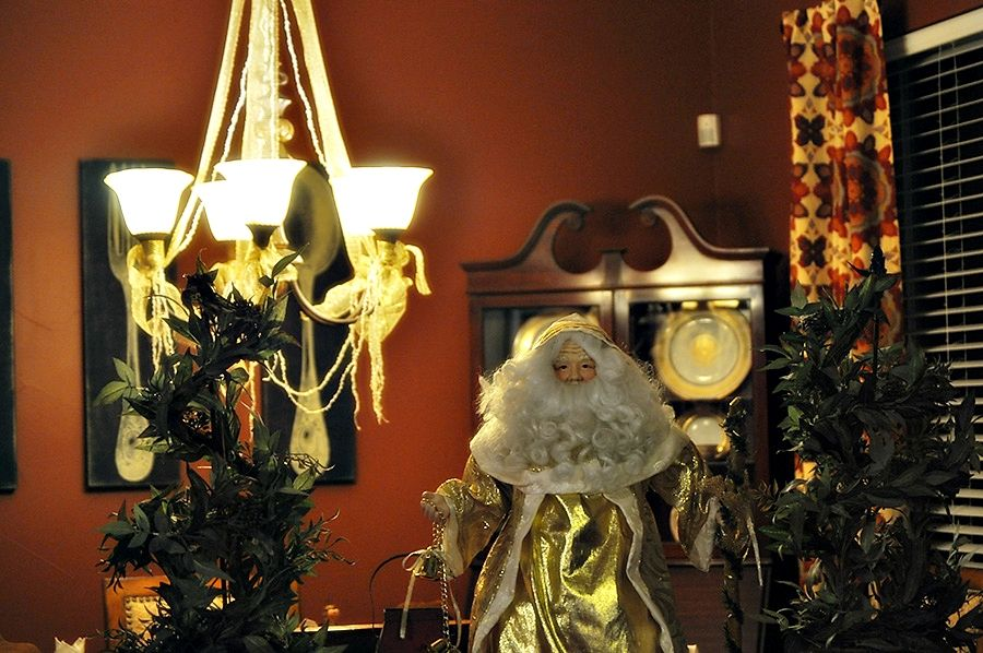 welcome 2013 santa and our dining room decor christmas 2013 at