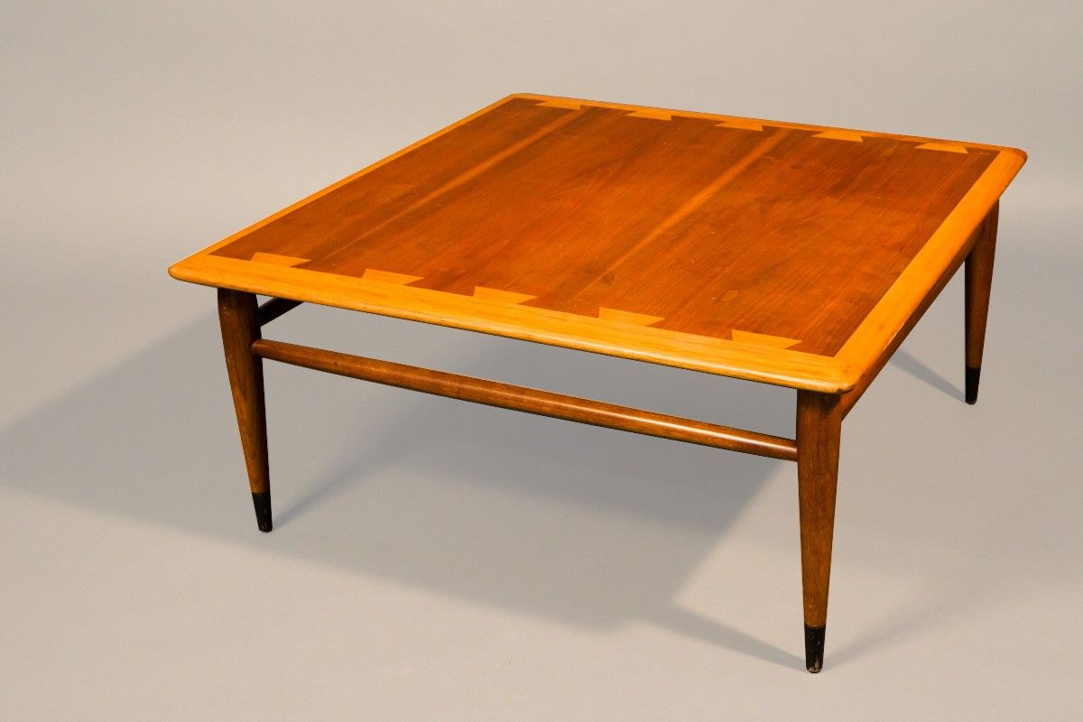 Modern wood side table  Lane Acclaim Square Coffee Table   Chicago furnishly