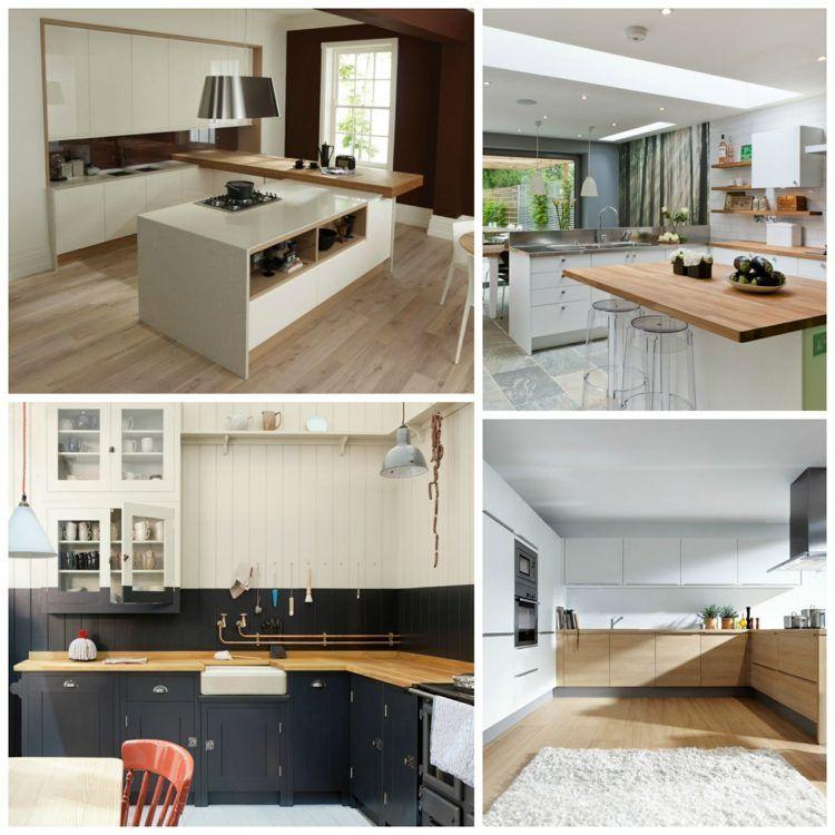 choisir une cuisine avec plan de travail bois