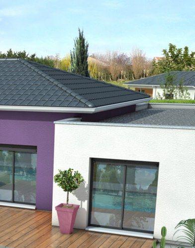 Maison toit plat Mahé - plan maison moderne ferhat in 2018 Pinterest - faire sa maison en 3d