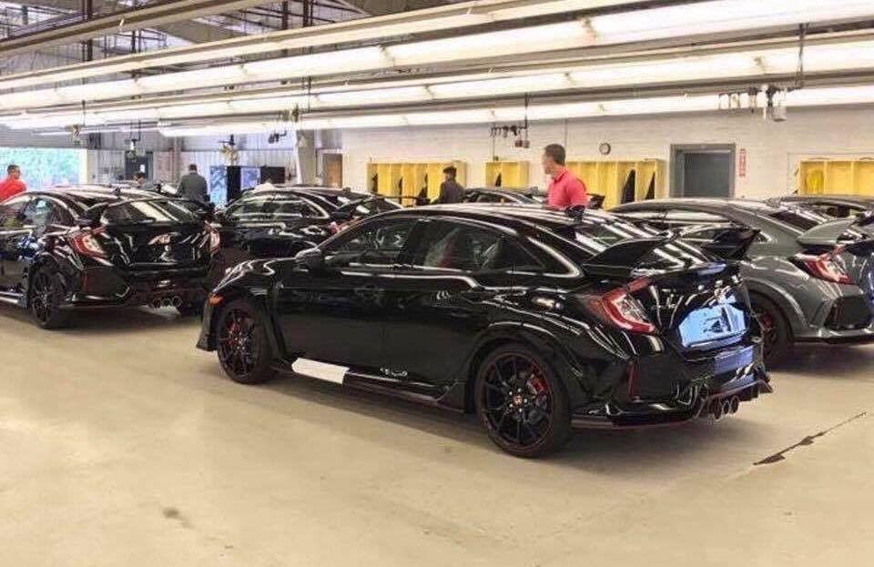 Khám phá lô hàng Honda Civic đầu tiên tại Mỹ