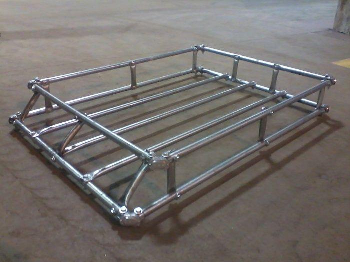 Mi Faciles Sin Techo De Soldadura En Rack 179 Jpg Truck Roof Rack Roof Rack Safari Rack