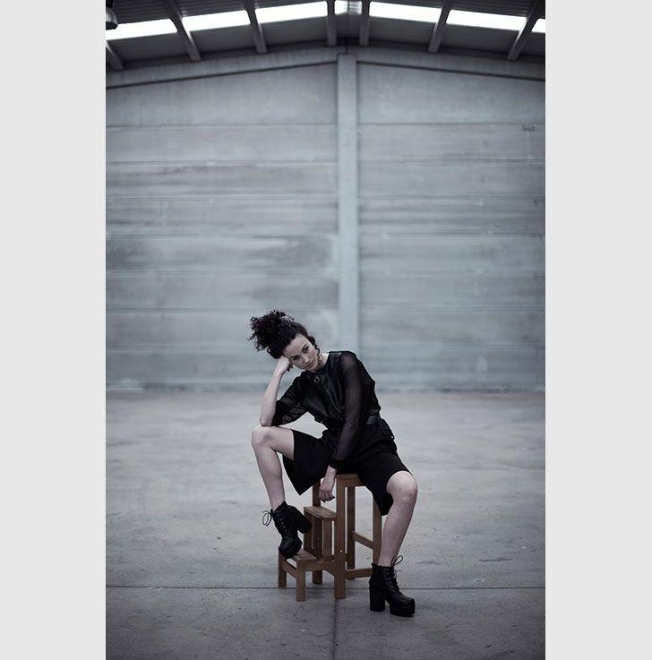 young spanish fashion designer