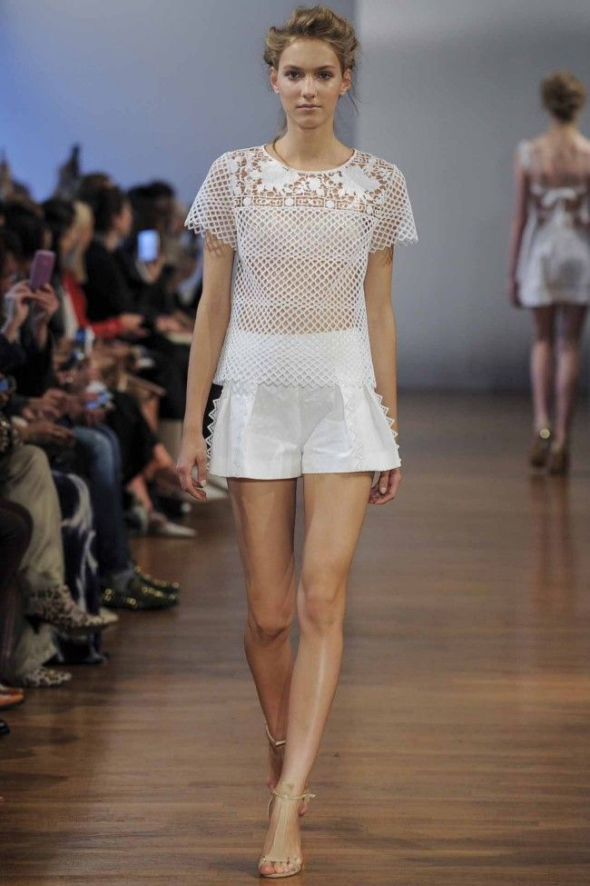 Collette Dinnigan ready-to-wear spring/summer '14