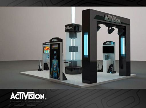 Trade Show Booth Design Ideas simple bold concept has the benefit of a impactful statement within a visually busy space tradeshow use of large image to capture attention Dc Event Management Company Trade Show Booth Design Width