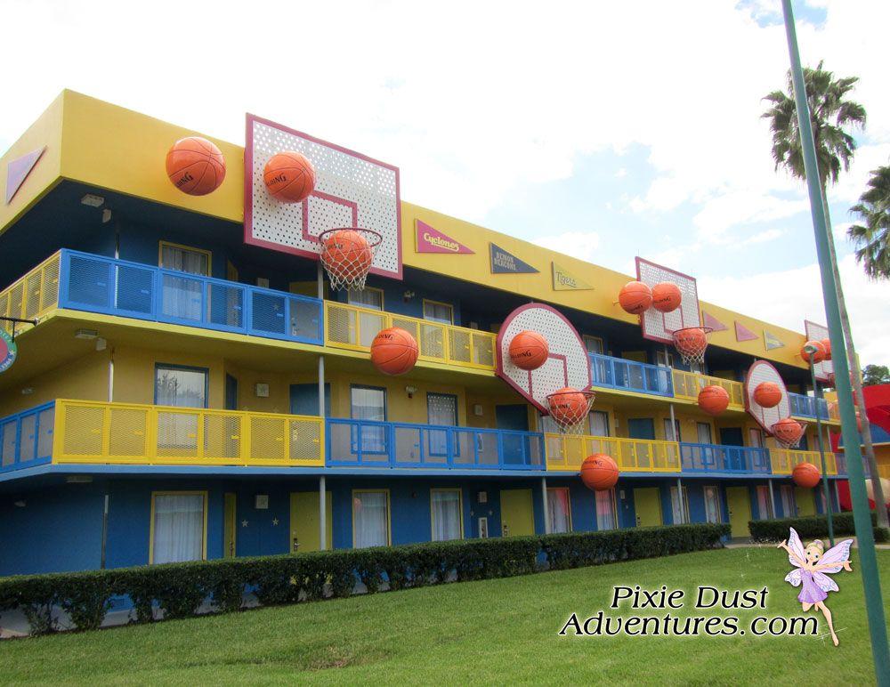 Disney's AllStar Sports Resort. Melissa Pixie Dust