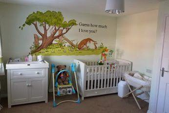 Custom Murals Guess How Much I Love You Nursery Mural Www Custommurals Co Uk
