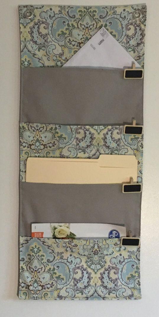 4 Pocket Hanging File Folder Organizer Wall Organizer Mail