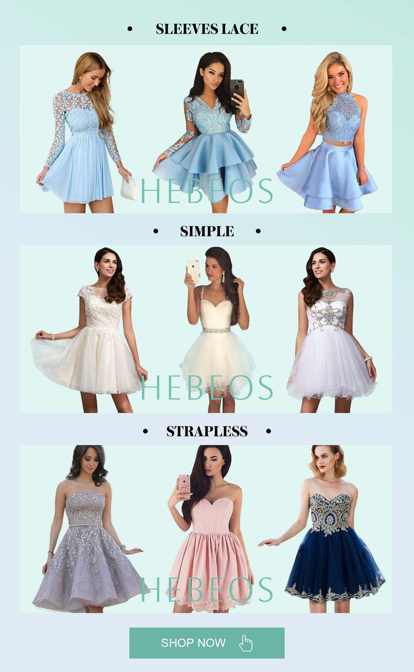 homecoming dresses, cheap homecoming dresses online - hebeos