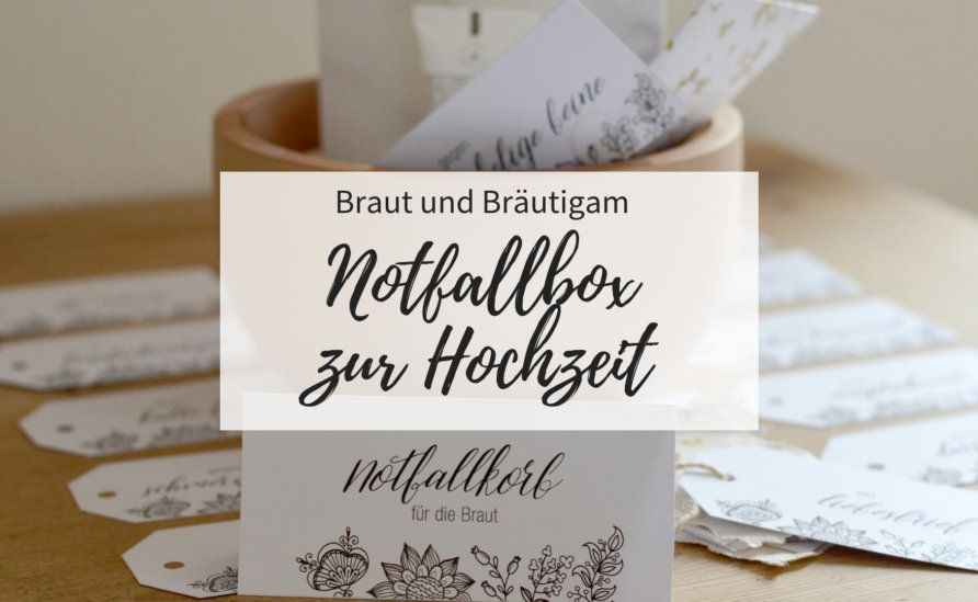 Eine Notfallbox Ist Die Coole Schwester Des Klassischen Geschenkekorbs Wir Haben Tolle Designs Fur Ein Braut Und Brautigam Survival Kit Fur Euch In 2020 With Images Place Card Holders Survival Prepper Survival