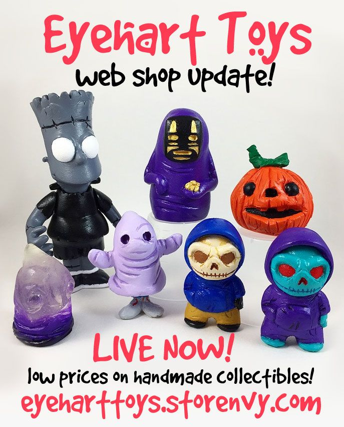Eyehart Toys Launches Huge Online Sale Toys Designer Toys Product Launch