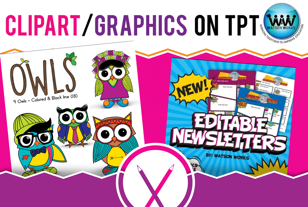Always accepting new members to our Clipart/Graphics on TpT board! Join today! #watsonworksedu #collaborative board #tpt #teaching #clipart #graphics