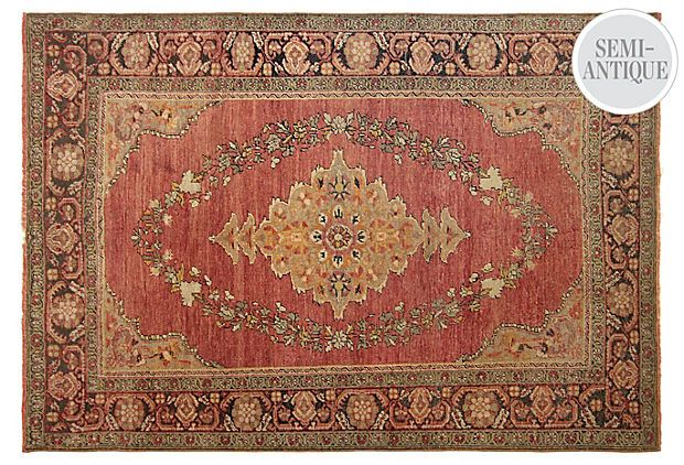 Antique rug from The Rug Bazaar
