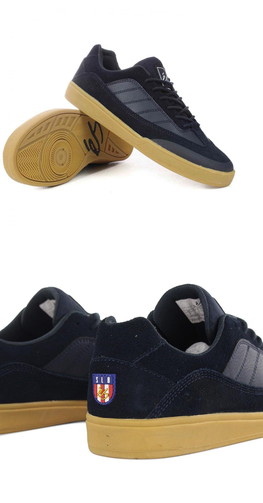 28d615ef04e2 Clothing Shoes and Accessories 159077  New - Es Slb 97 Skateboard Shoes.  Navy Gum. Sal Barbier Sizes 9 Thru 12 -  BUY IT NOW ONLY   59 on eBay!