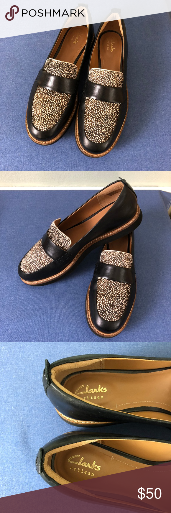 aaaefa8b673 clarks glick avalee leather loafers smart-looking   comfortable leather  loafers from clarks. black