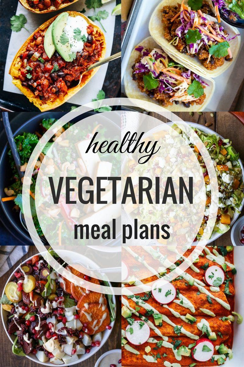 Healthy Vegetarian Meal Plans Week Twenty Five Healthy