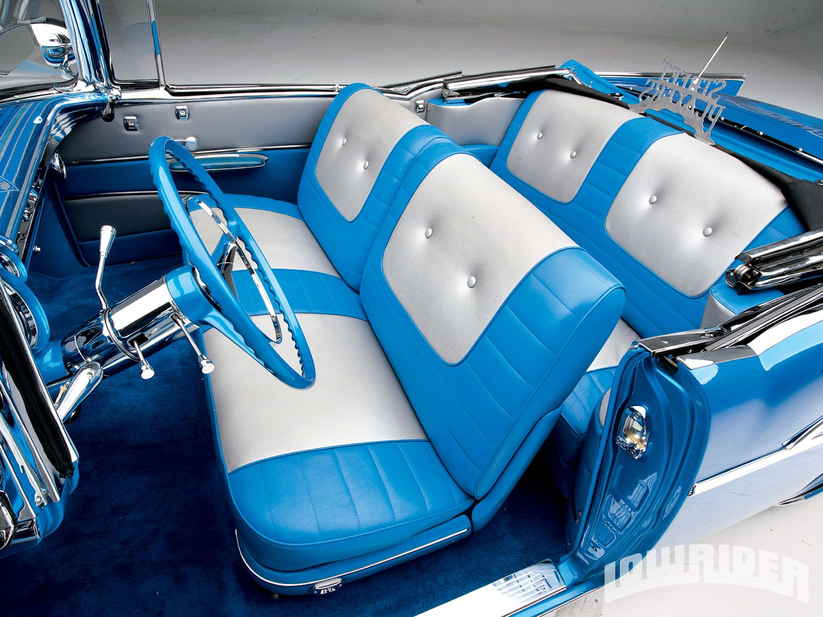 1957 chevrolet bel air convertible factory style interior
