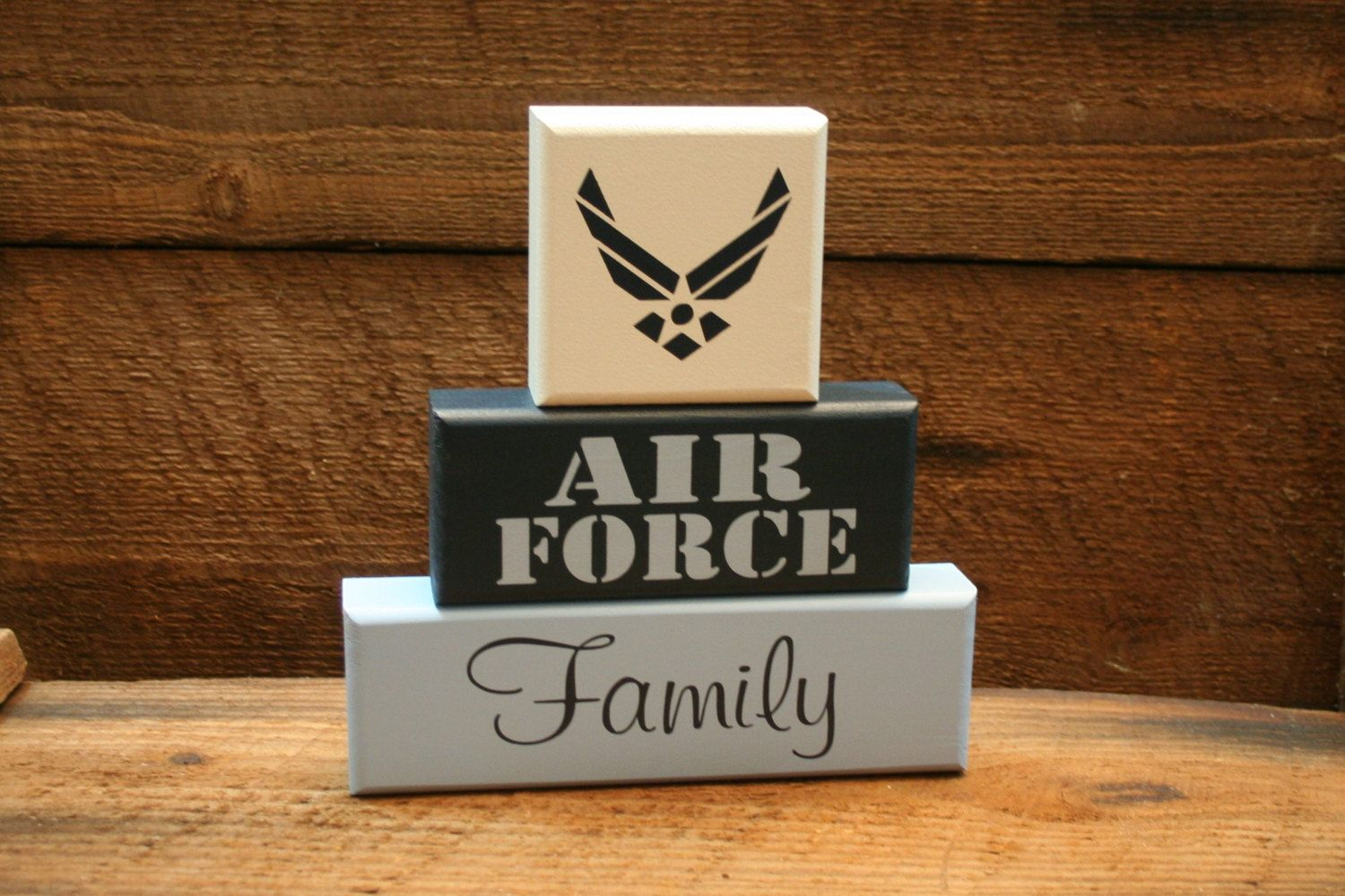 AIR FORCE Family Military Blocks. DIY Projects
