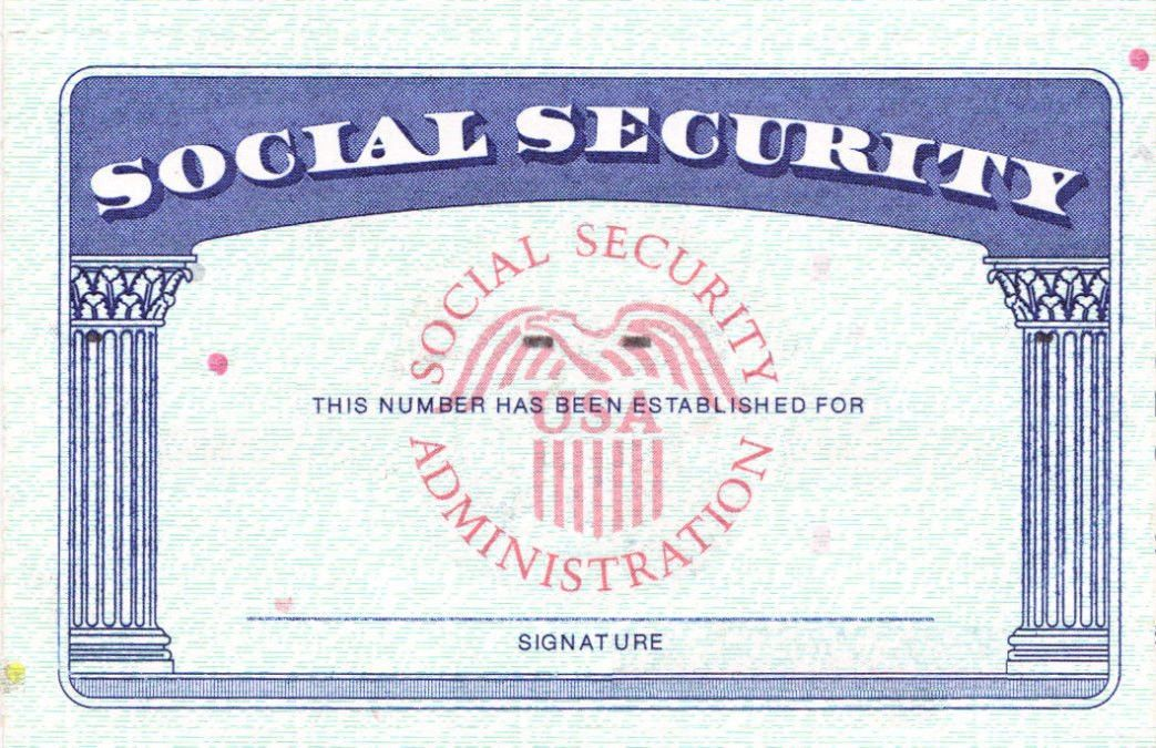 blank social security card template download Social