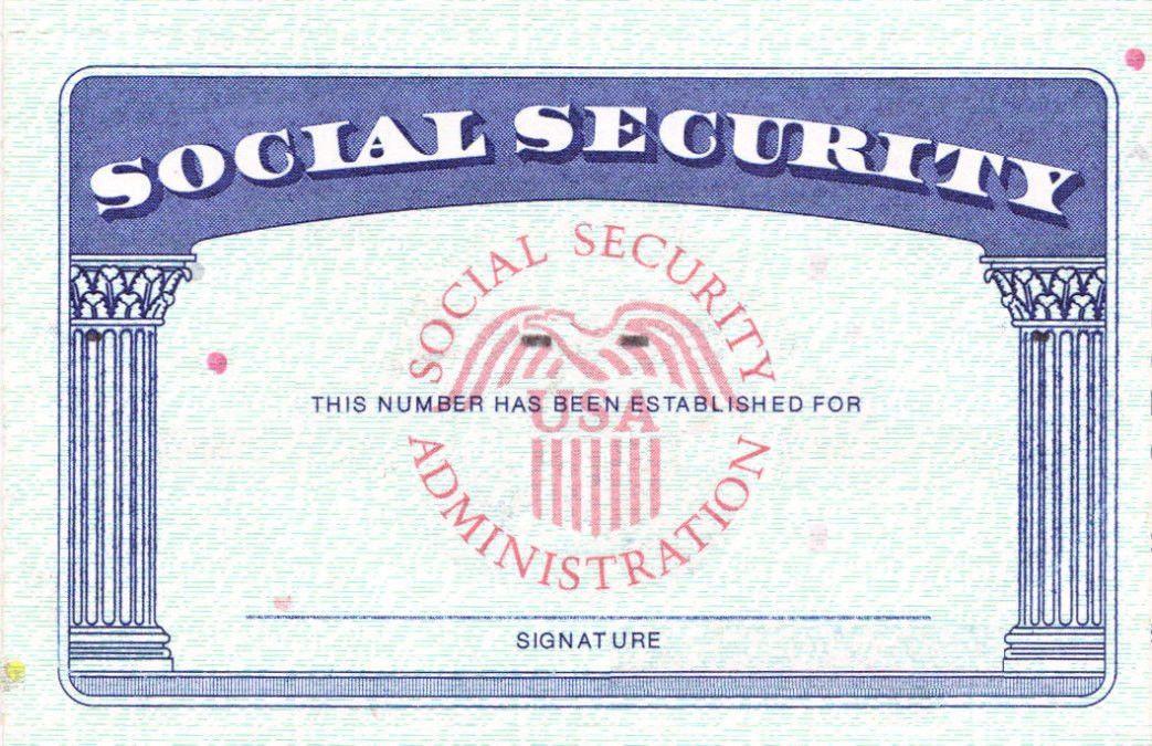 Social Security Card 2017 Social Security Card Template Cyberuse Sampleresume Freeresume Id Card Template Money Template Social Security Card