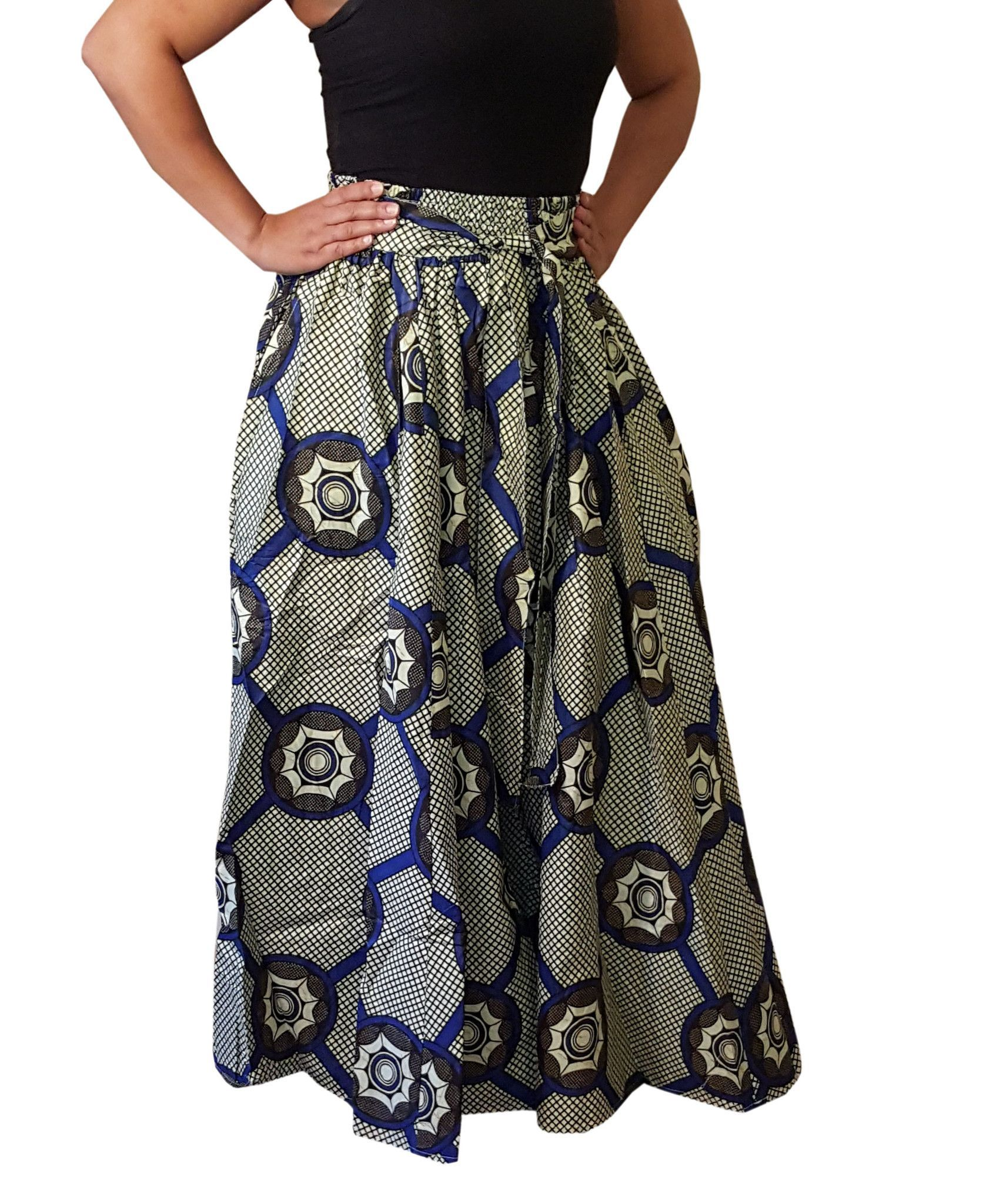 Krawattenrock Sabe 4 Panel Blue White Bow Tie Skirt Products Pinterest