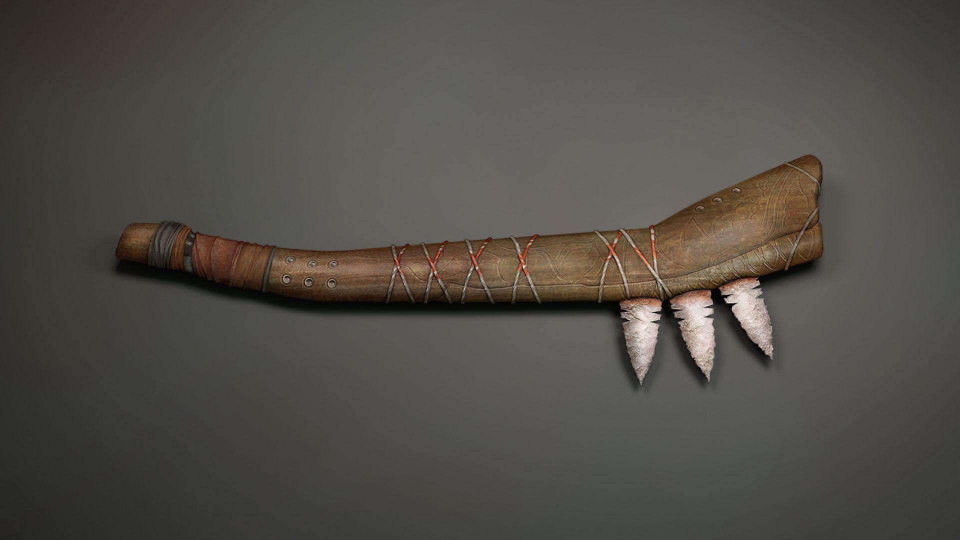 Pin Dan Bullock Monster Slayer Weapons Native American War