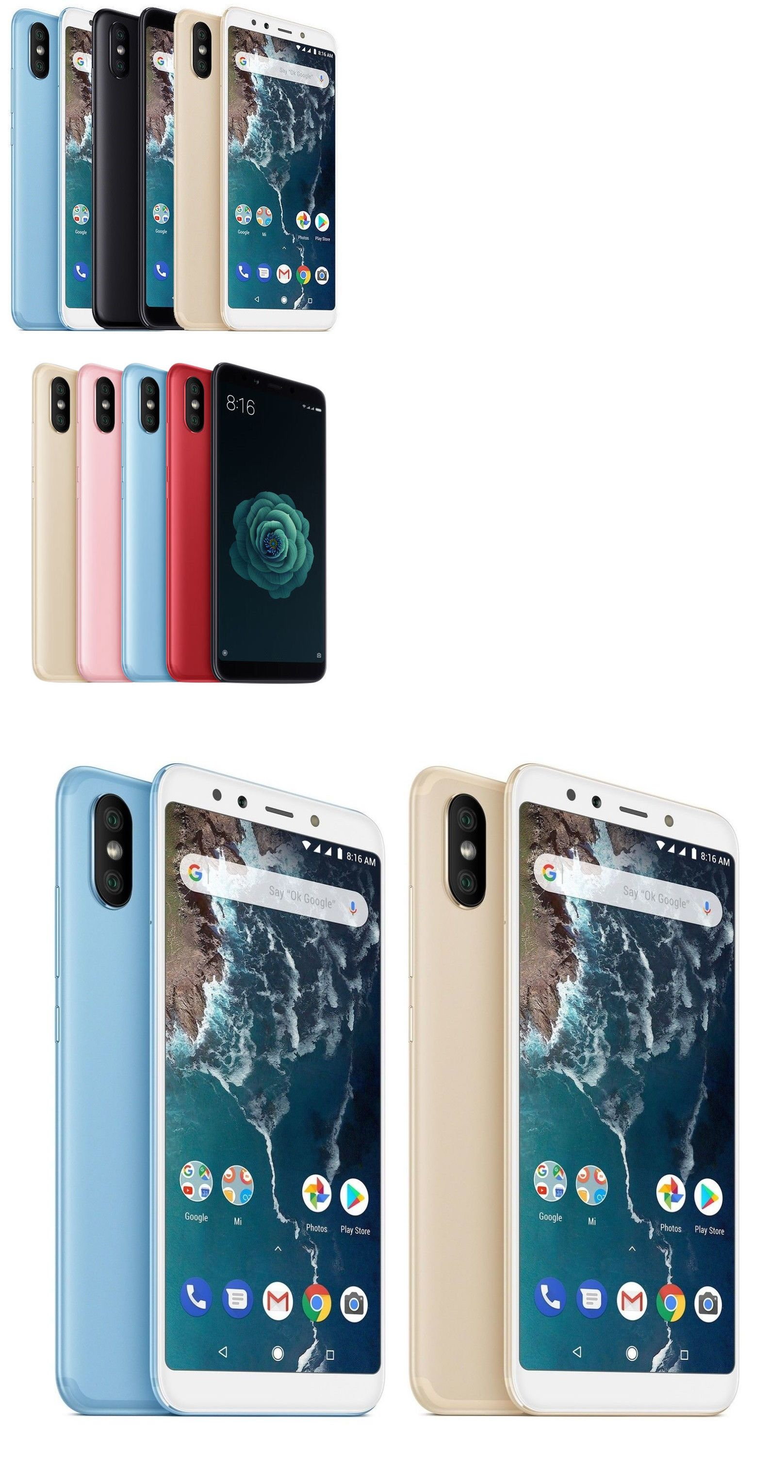 Cell Phones and Smartphones 9355: Xiaomi Mi A2 128Gb