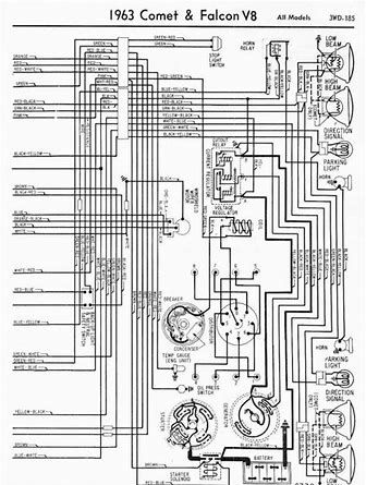 1963 Comet Wiring Diagram