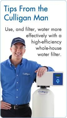 From Your Culligan Man Culligan Whole House Water Filter Water Delivery